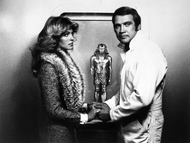 Farrah Fawcett Lee Majors