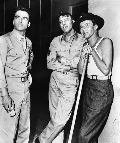 Montgomery Clift Burt Lancaster Frank Sinatra From Here to Eternity