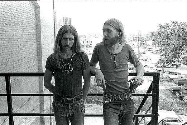Berry Oakley Duane Allman July 1971
