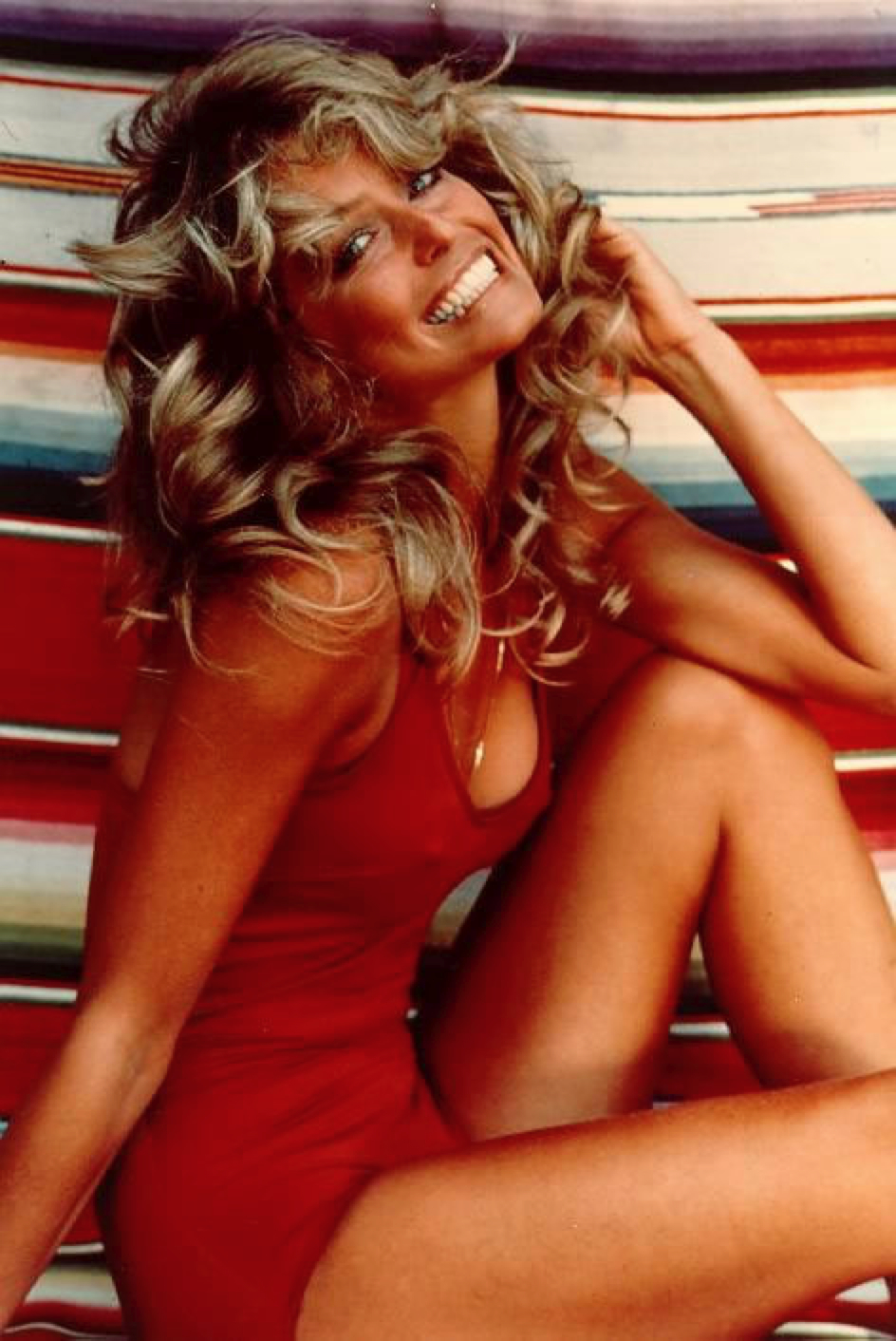 farrah fawcett swimsuit