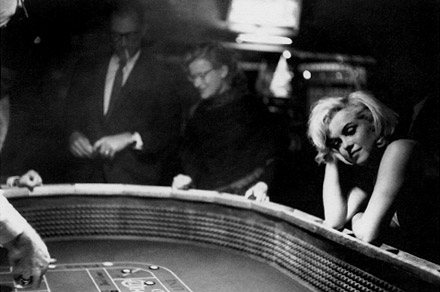 john huston gambling marilyn monroe the misfits