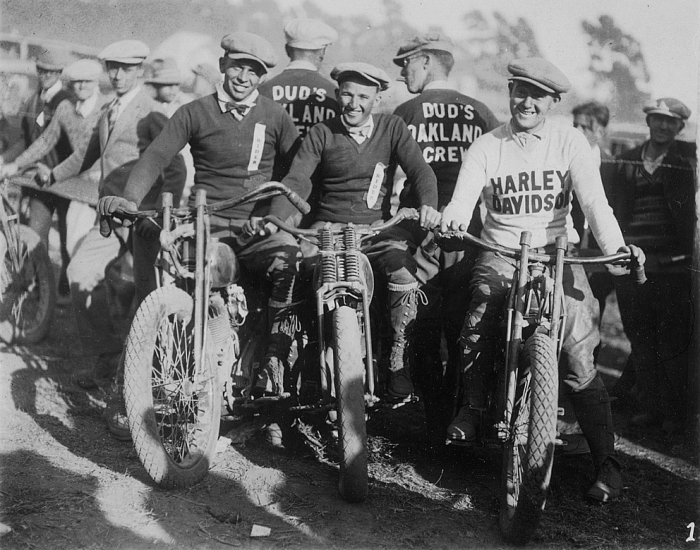 Oakland Motorcycle Club 1920s