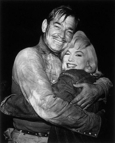 Clark Gable Marilyn Monroe The Misfits