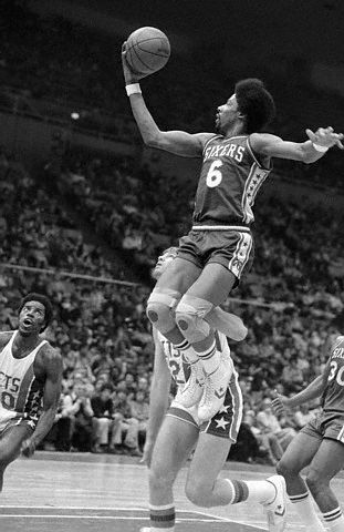 Julius Erving finger roll