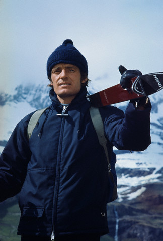 Old School Style On The Slopes Jean Claude Killy The