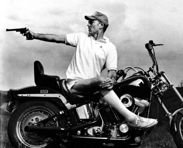 Hunter S Thompson –image By Annie Leibovitz