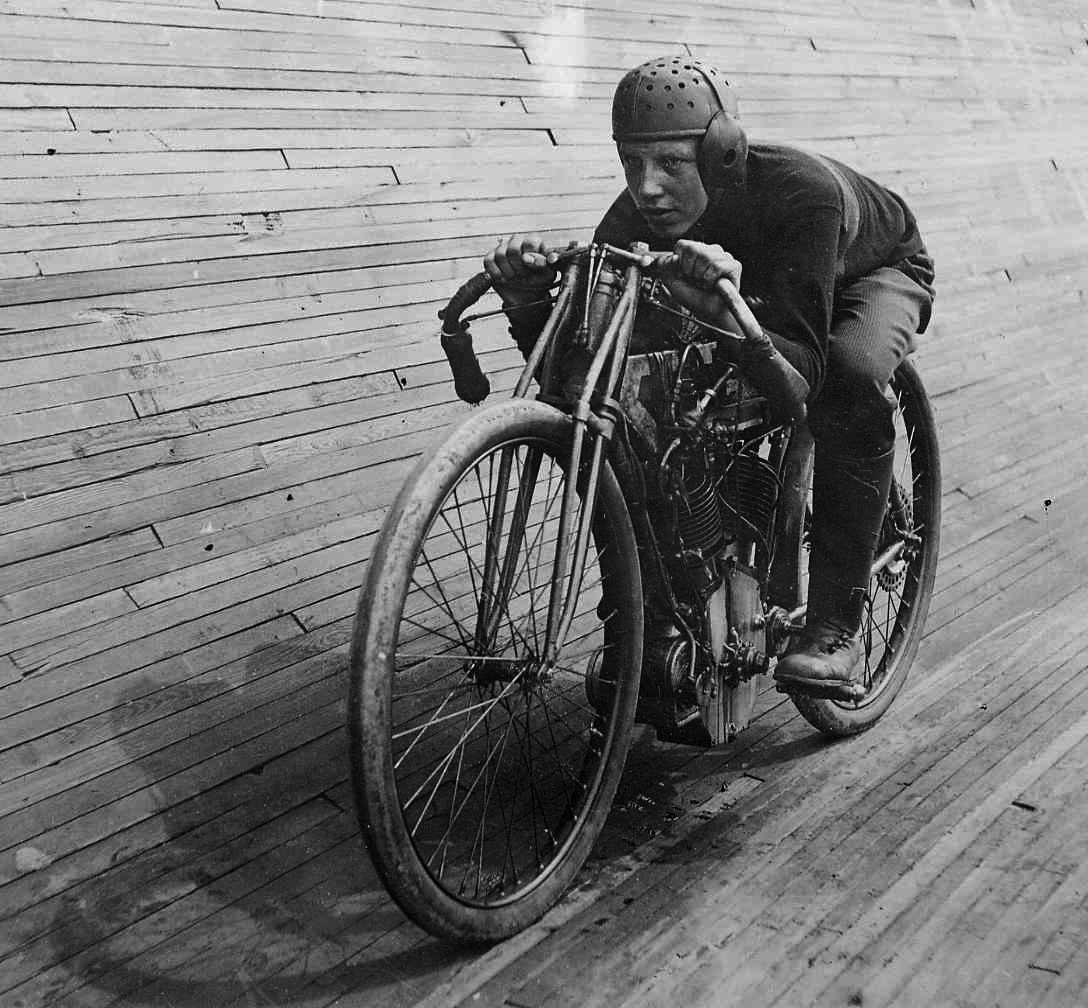 motorcycle, circa 1914