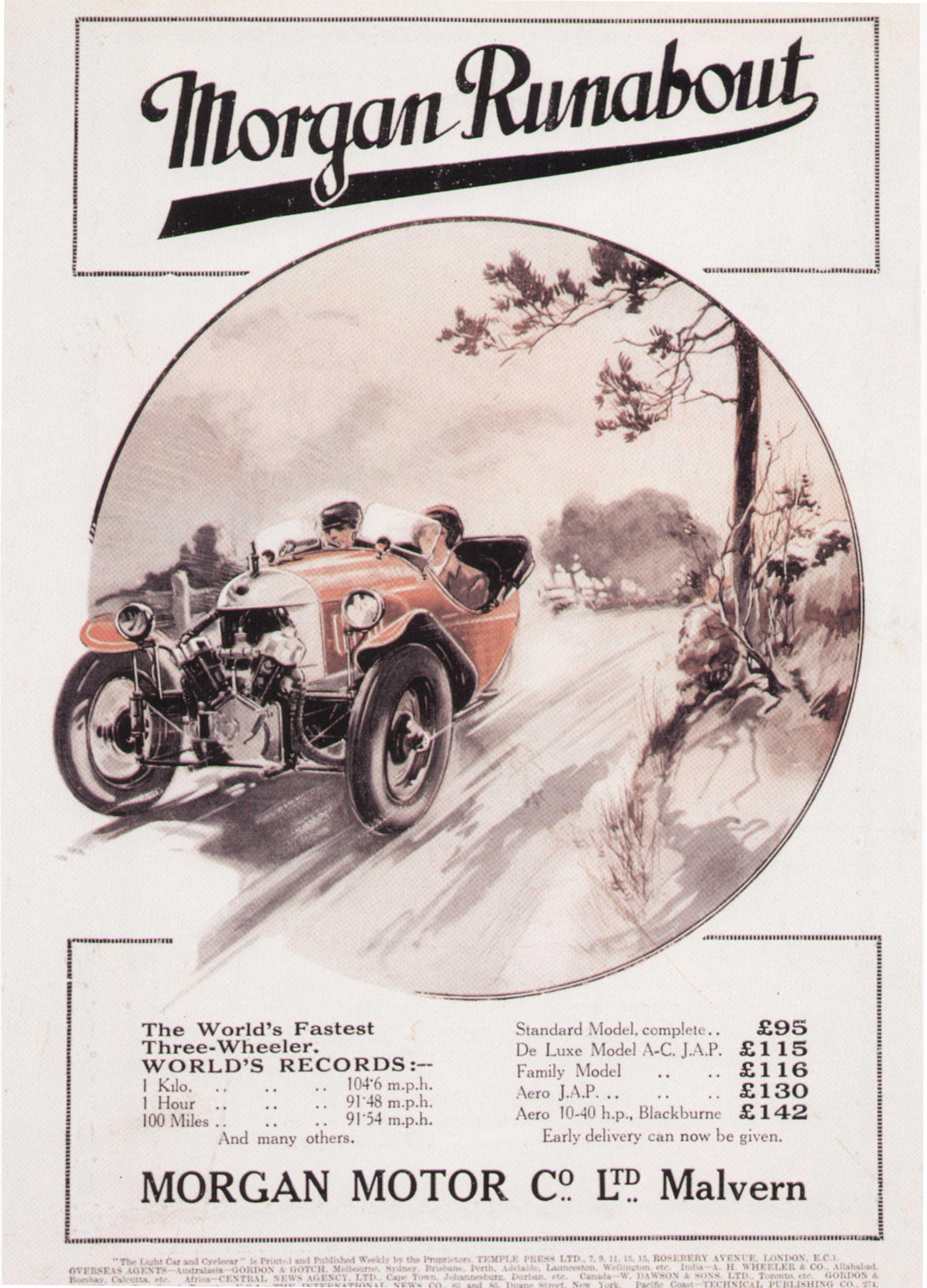Morgan Motor Company Usa