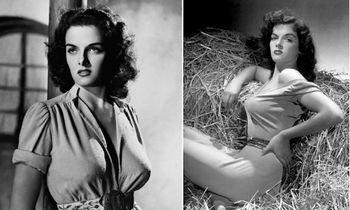 jane russell outlaw pinup breasts