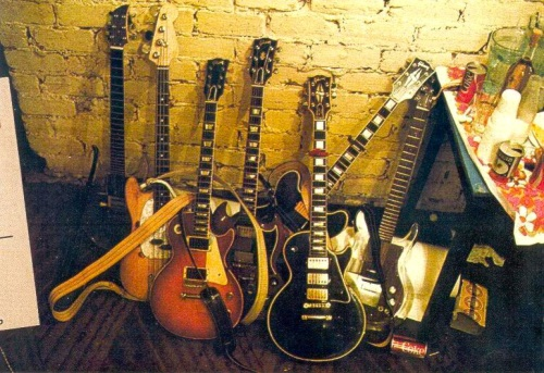 The Selvedge Yard, The Rolling Stones guitars backstage in 1969
