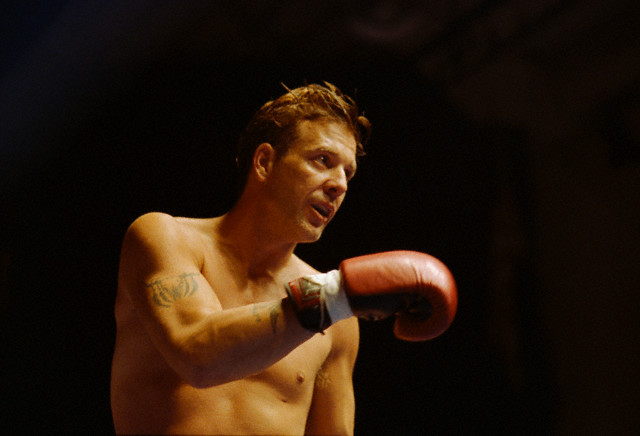 Mickey Rourke Boxing Young