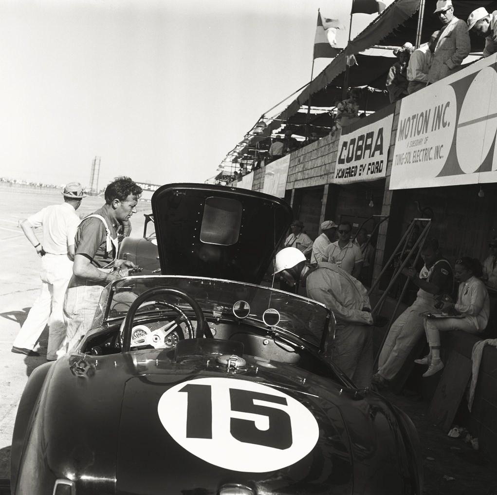 12 Hours of Sebring, 1963.