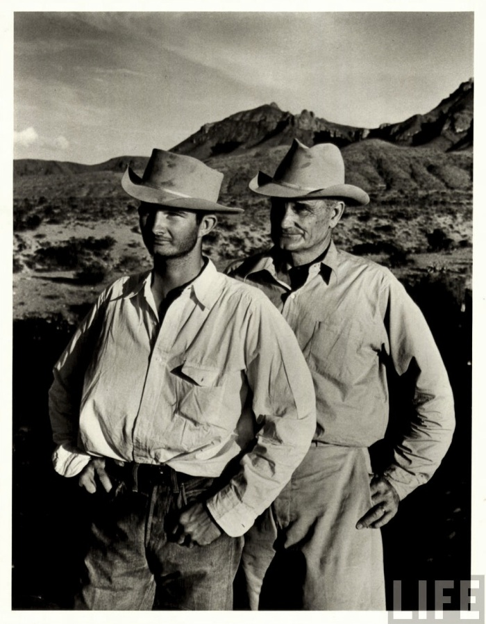 Even Cowboys Get The Blues Vintage Photos Of Dudes In