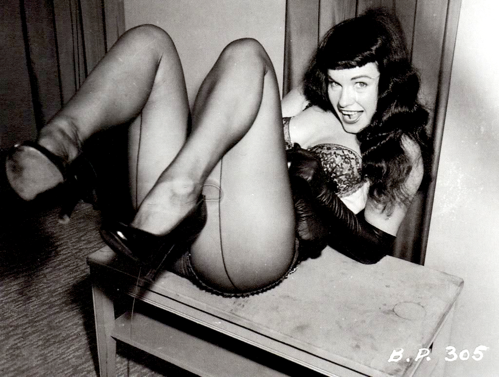 inspirations bettie page bunny yeager legendary. Black Bedroom Furniture Sets. Home Design Ideas