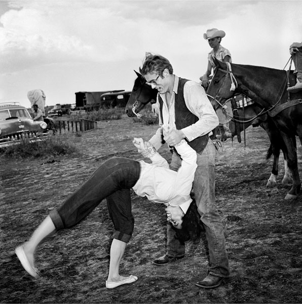 James Dean Elizabeth Taylor Giant
