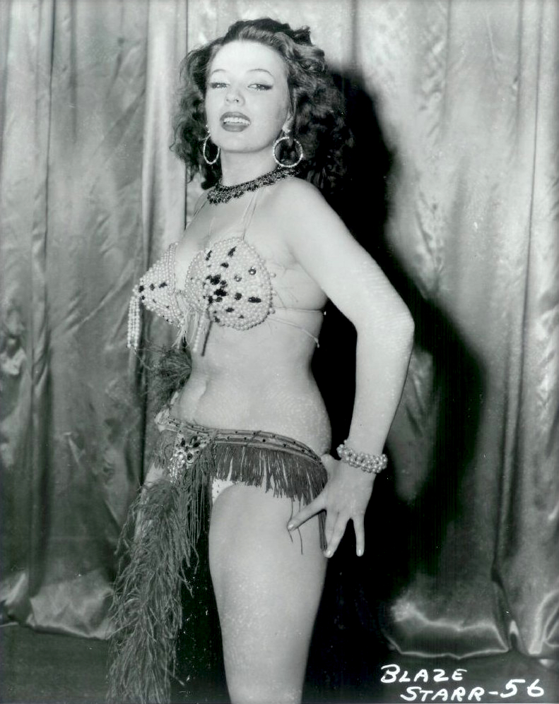 Busty Belle Vintage Stripper