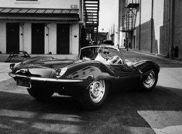 Steve McQueen Jaguar XK-SS Green Rat