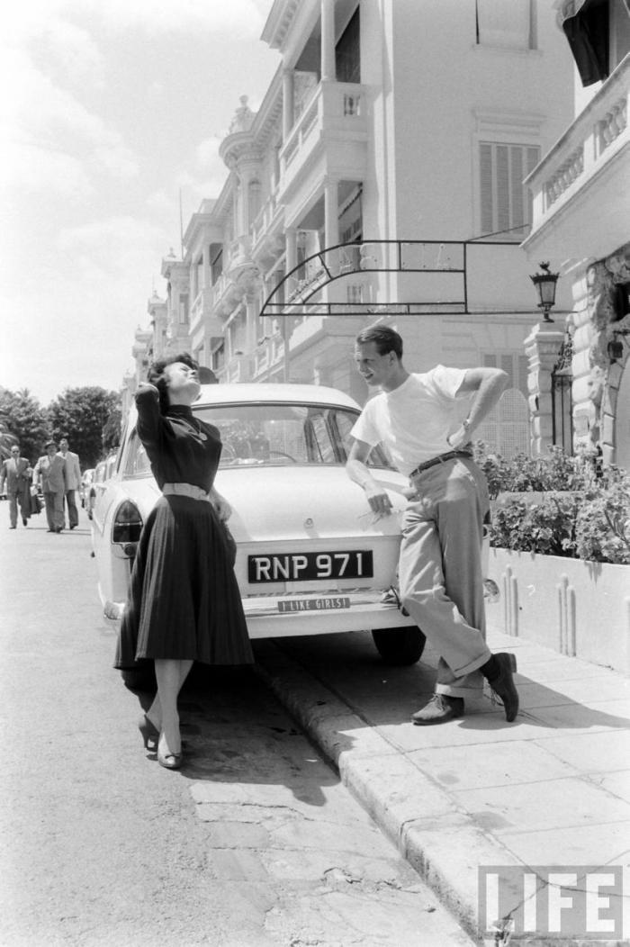 peter collins formula one F1 1956 Monaco