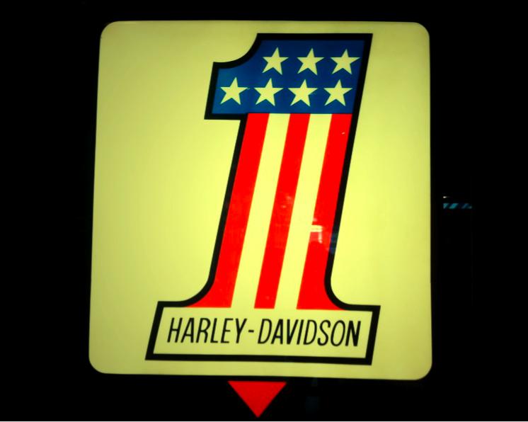 Harley-Davidson Number One Logo