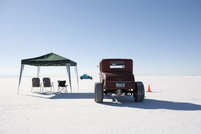 BONNEVILLE SALT FLATS RAY GORDON THE SELVEDGE YARD HOT ROD