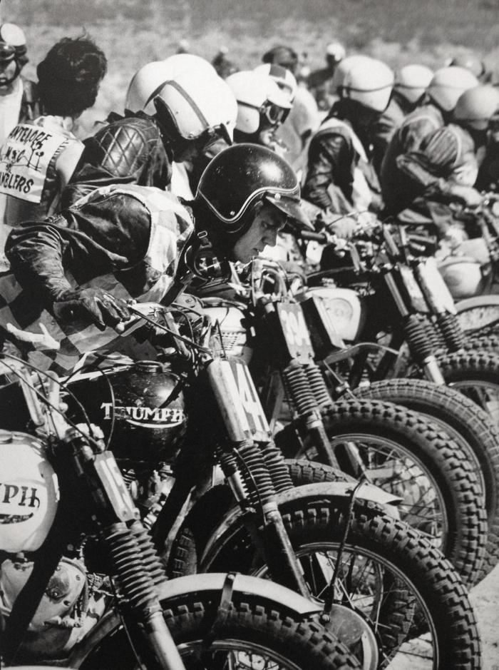 steve mcqueen triumph motorcycle
