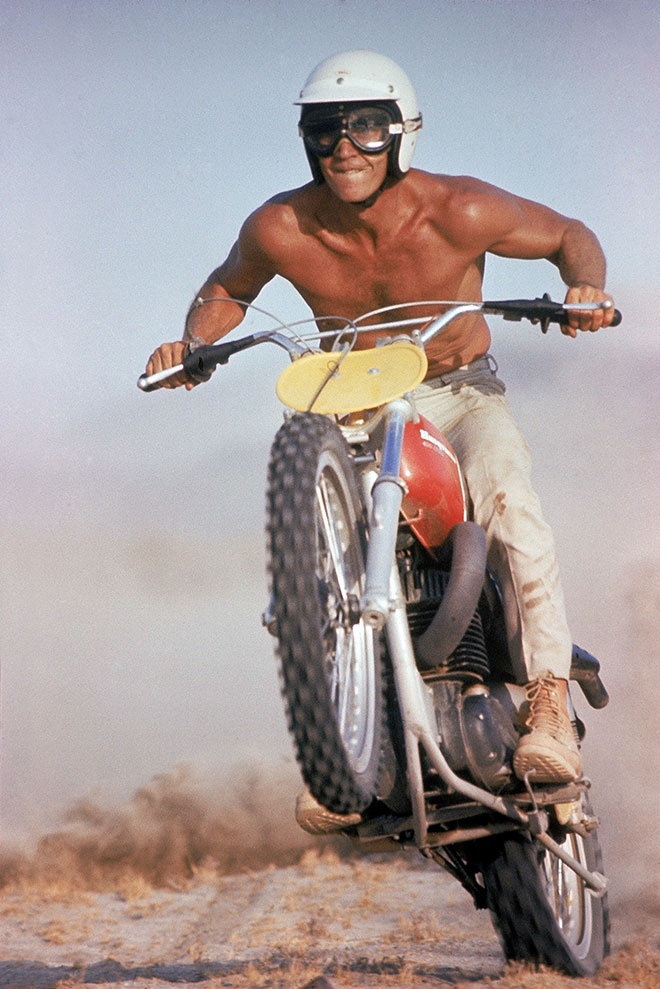 Sportbike Riding Boots >> STEVE McQUEEN AKA HARVEY MUSHMAN RIDES AGAIN | VINTAGE SI | The Selvedge Yard