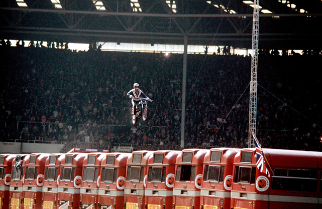 Vintage Evel Knievel In His