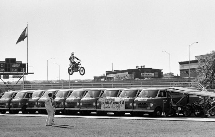 Evel Knievel worcester 1976
