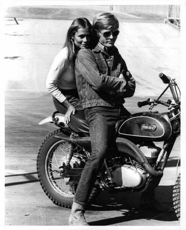 Lauren Hutton And Robert Redford In 'Little Fauss And Big Halsy'