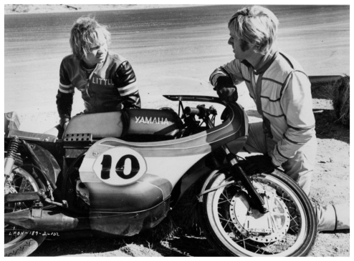 robert redford yamaha motorcycle Little Fauss and Big Halsy