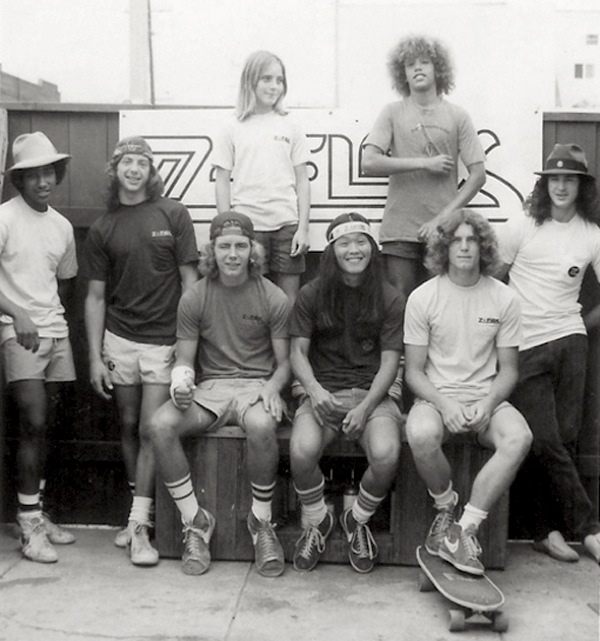 zephyr skate team z boys skateboarder