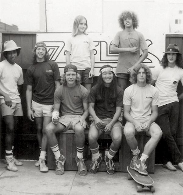 zephyr skate team z boys skateboarder