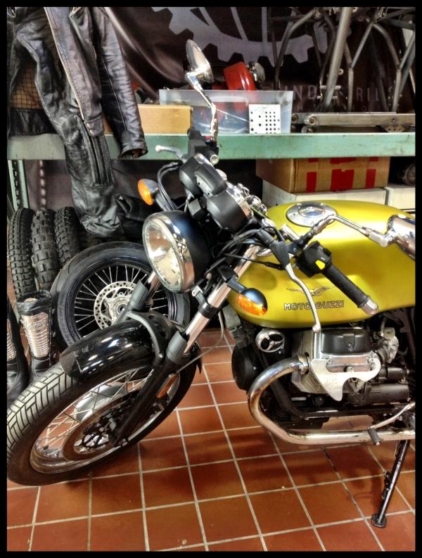 Hammarhed Industries motorcycle moto guzzi
