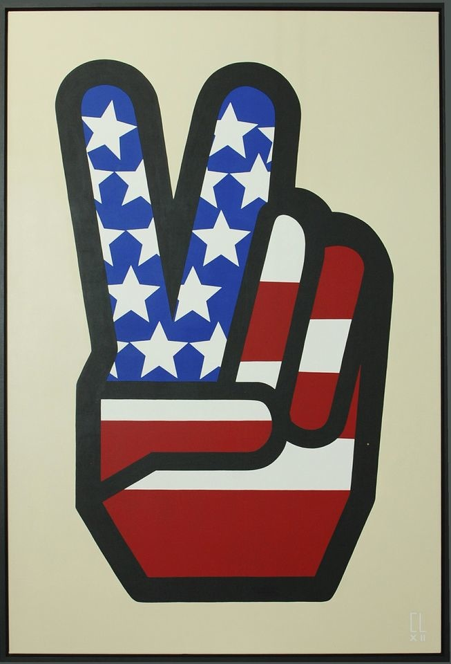 TWO FINGER SALUTE