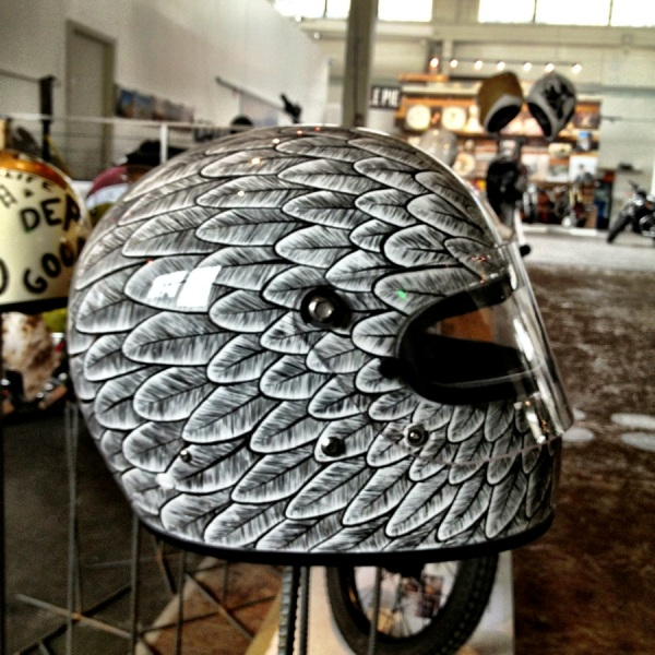 brent wick the one motorcycle show 21 helmets