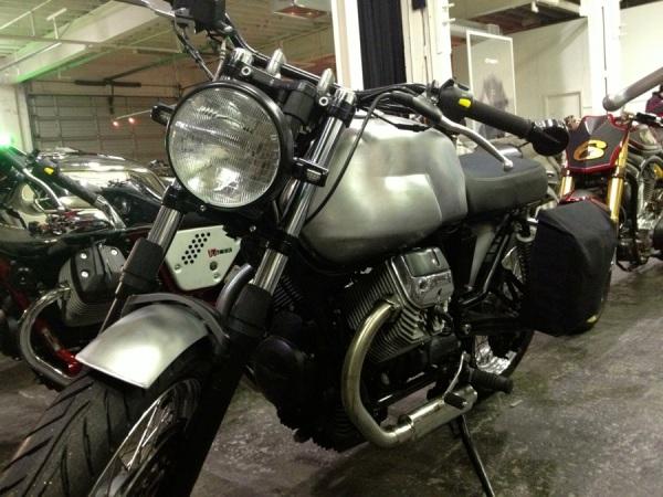 hammarhead industries v7 wayward moto guzzi the one motorcycle show portland