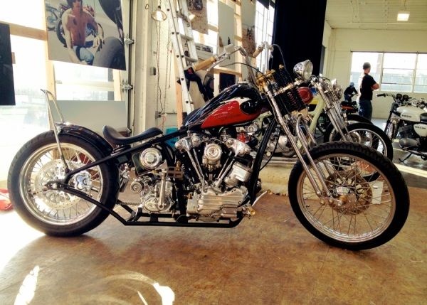 harley-davidson knucklehed the one motorcycle show portland