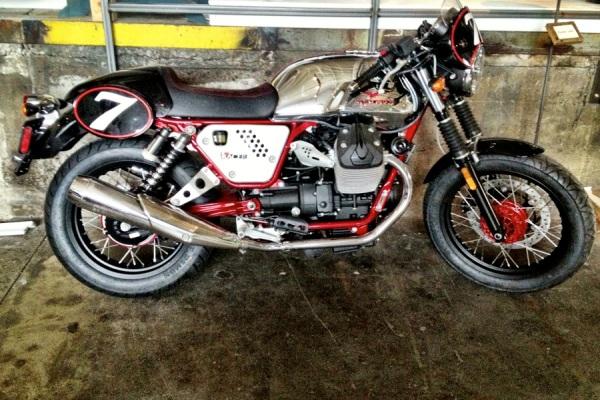 moto guzzi v7 racer motorcycle