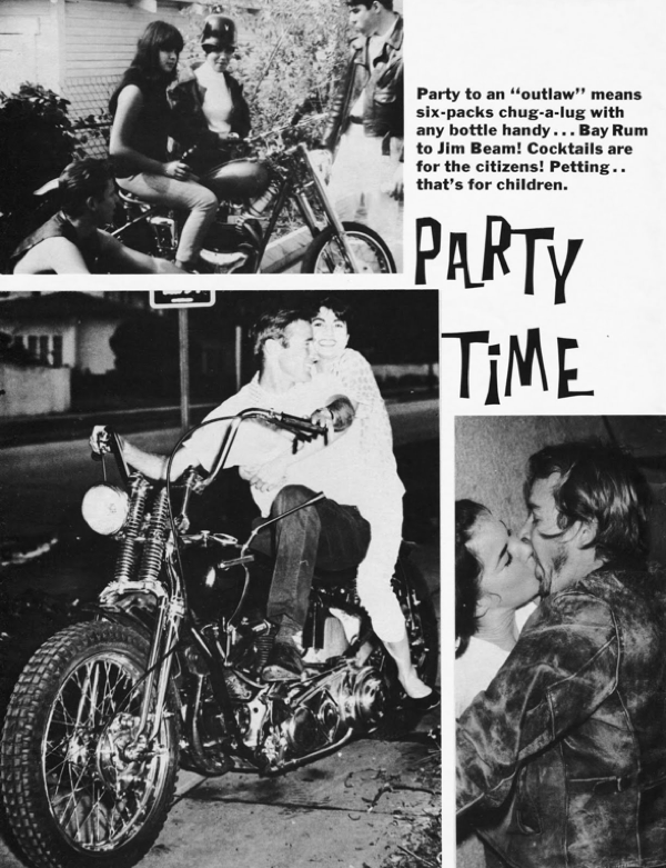 BARRED MOTORCYCLE MAGAZINE 1960S PAGE 9