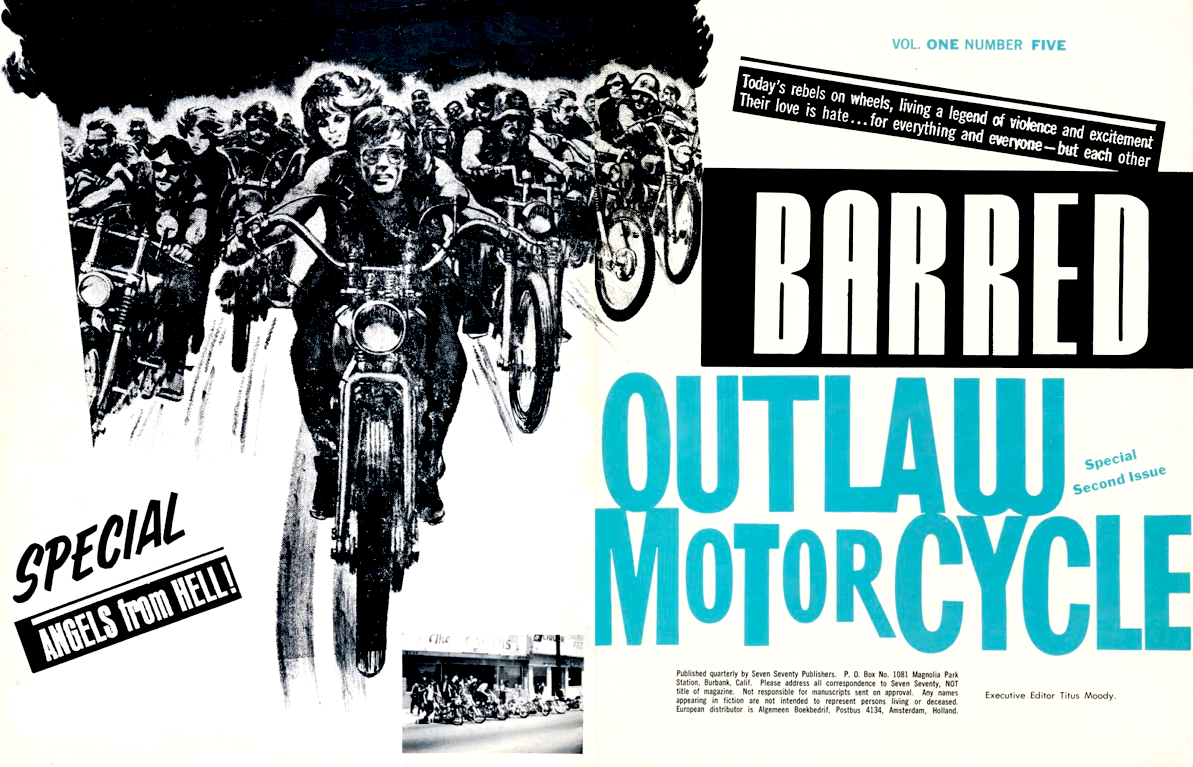barred outlaw motorcycle magazine