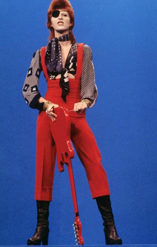 David Bowie ziggy stardust guitar