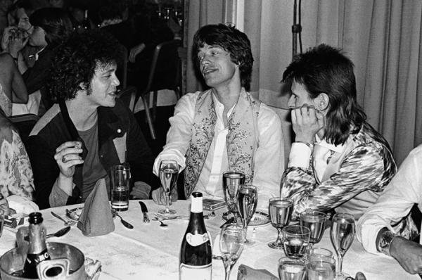 lou reed mick jagger david bowie