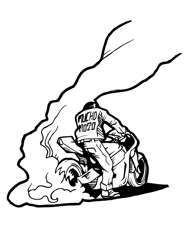 autos sometimes nothing 1948 Indian Chief Motorcycle much moto burnout