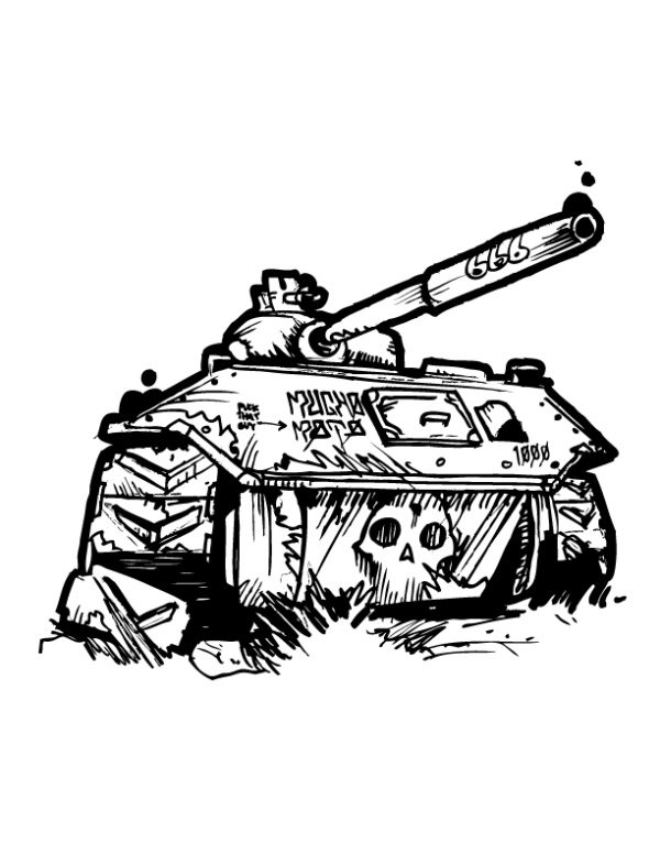 mucho moto tank