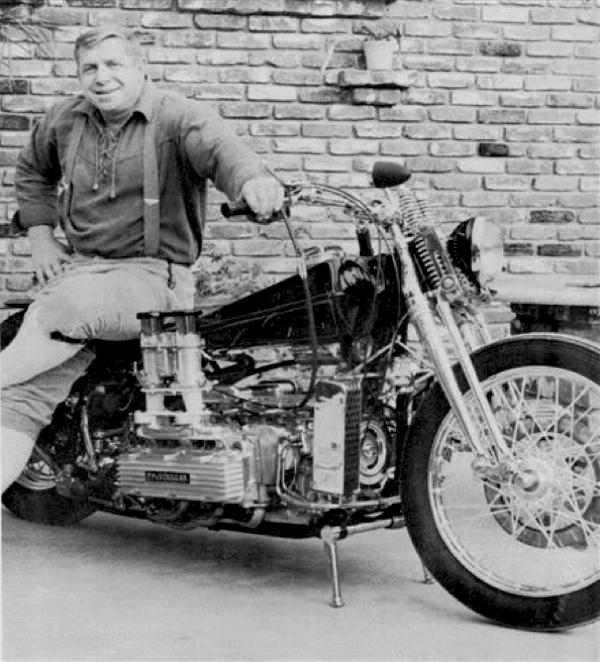 NORM GRABOWSKI CORVAIR MOTORCYCLE PP 'N' VINEGAR