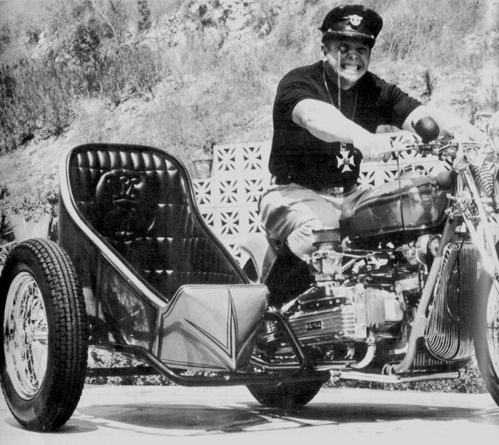 NORM GRABOWSKI CORVAIR MOTORCYCLE SIDECAR