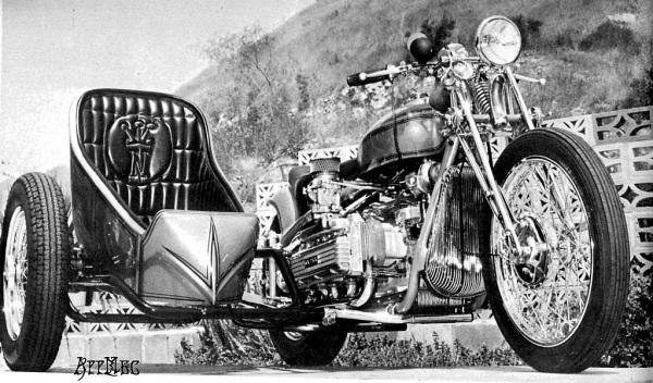 NORM GRABOWSKI CORVAIR MOTORCYCLE