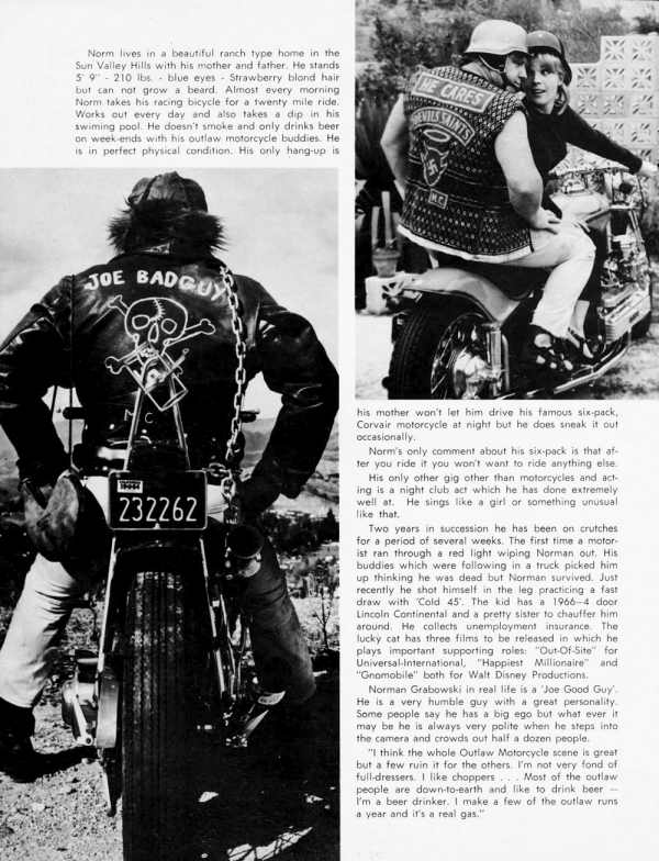 norm grabowski motorcycle magazine