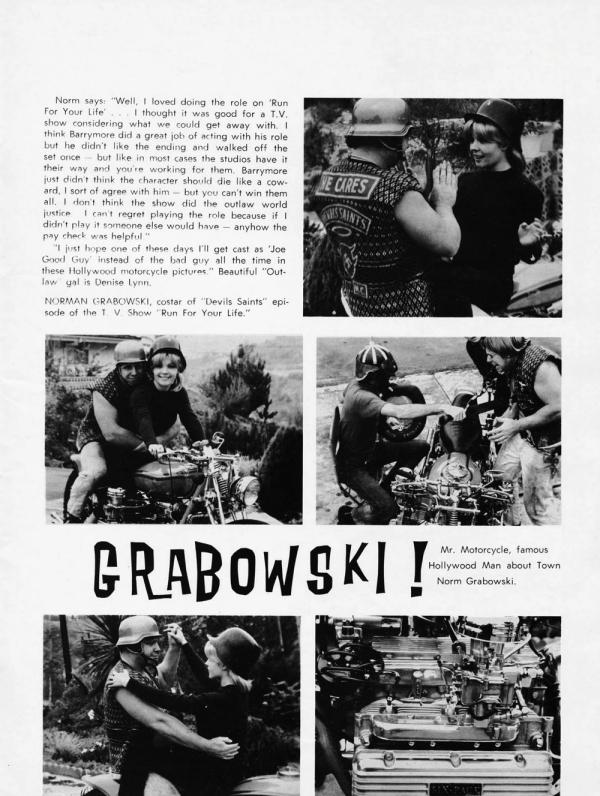 norm grabowski motorcycle