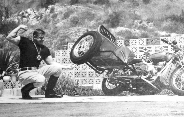 norm grabowski six pack sidehack corvair motorcycle